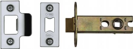 M Marcus York Security YKAL3-PC&PN Architectural Mortice Latch 76mm Polished Chrome/Nickel